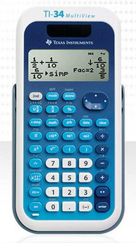 Texas Instruments TI-34 MultiView #2
