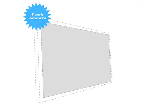 Multibrackets Framed Projection Screen #1