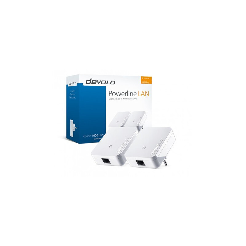 Devolo dLAN 1000 mini Starter Kit #1