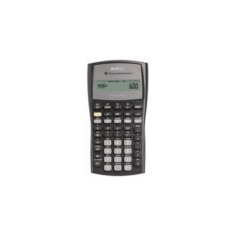 Texas Instruments BA II plus #1
