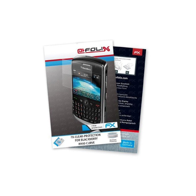 atFoliX FX-Clear f/ BlackBerry 8900 Curve #1