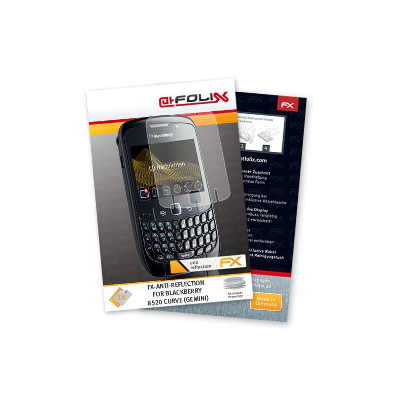 atFoliX FX-Antireflex f/ Blackberry 8520 Curve #1