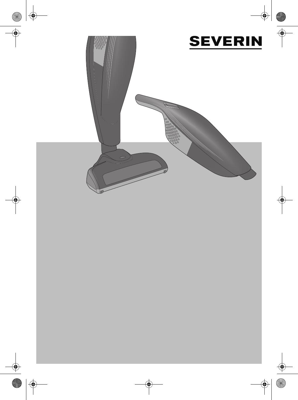 Severin SC 7172, Aspirateur Balai et de Table avec Brosse