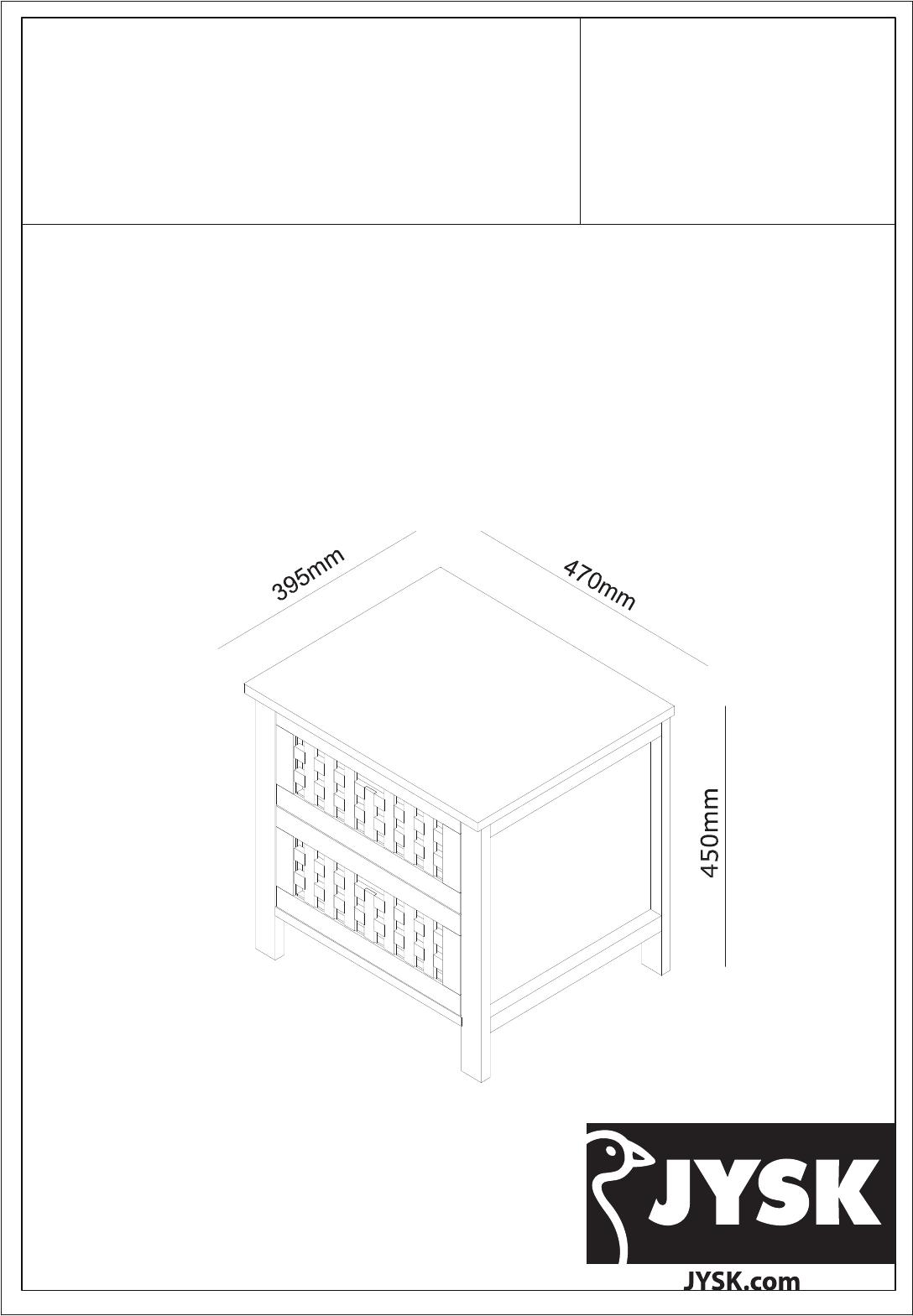 JYSK Mode MALT12 des d'emploi pages BCWrxoeEQd
